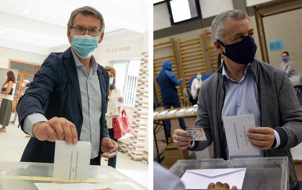 12-J: Elecciones en Galicia y País Vasco en mitad de los rebrotes del coronavirus