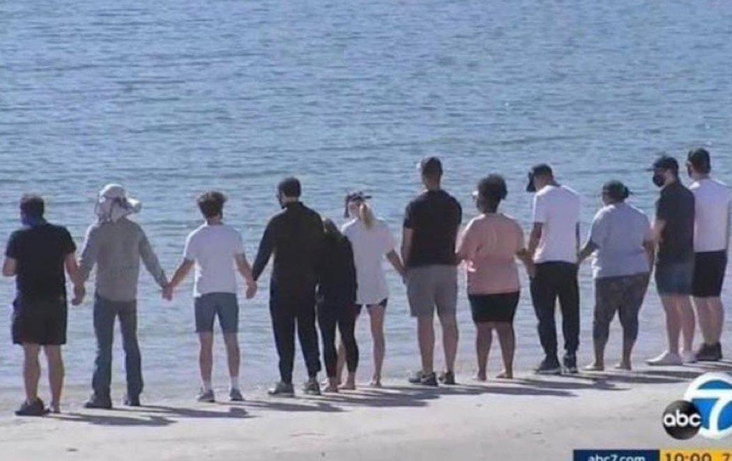 La familia de Naya Rivera y compañeros de 'Glee' se unen para despedirla en el lago donde perdió la vida