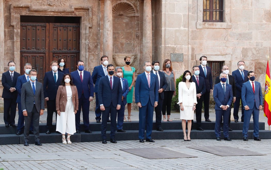 La Conferencia de Presidentes arranca con la ausencia de Torra después de que Urkullu haya decidido asistir