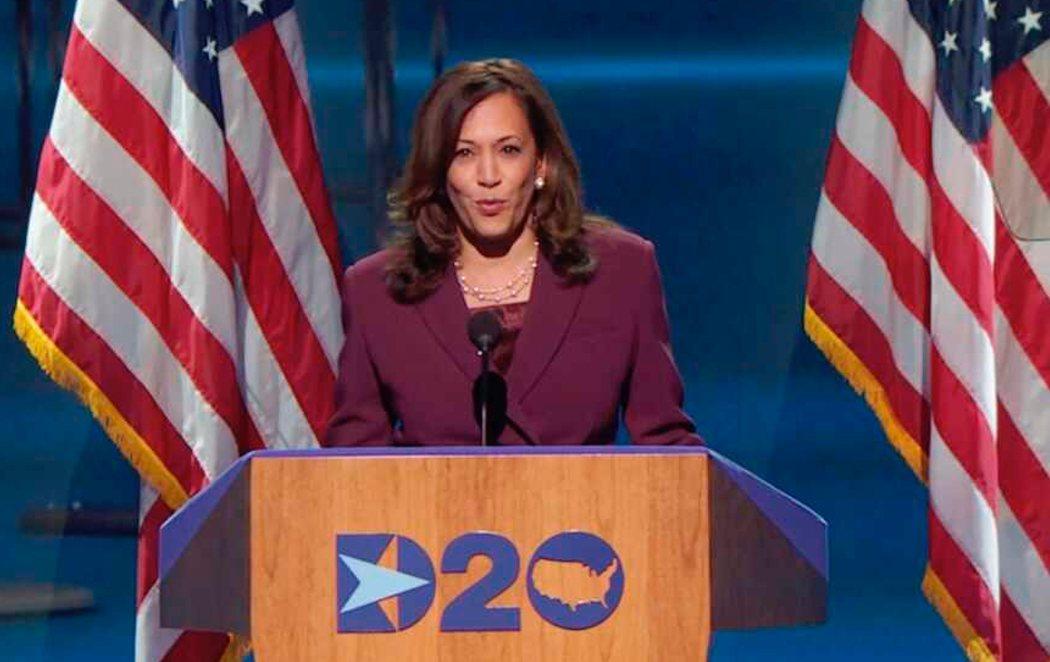 Kamala Harris acepta oficialmente la nominación demócrata a la Vicepresidencia de EEUU y hace historia