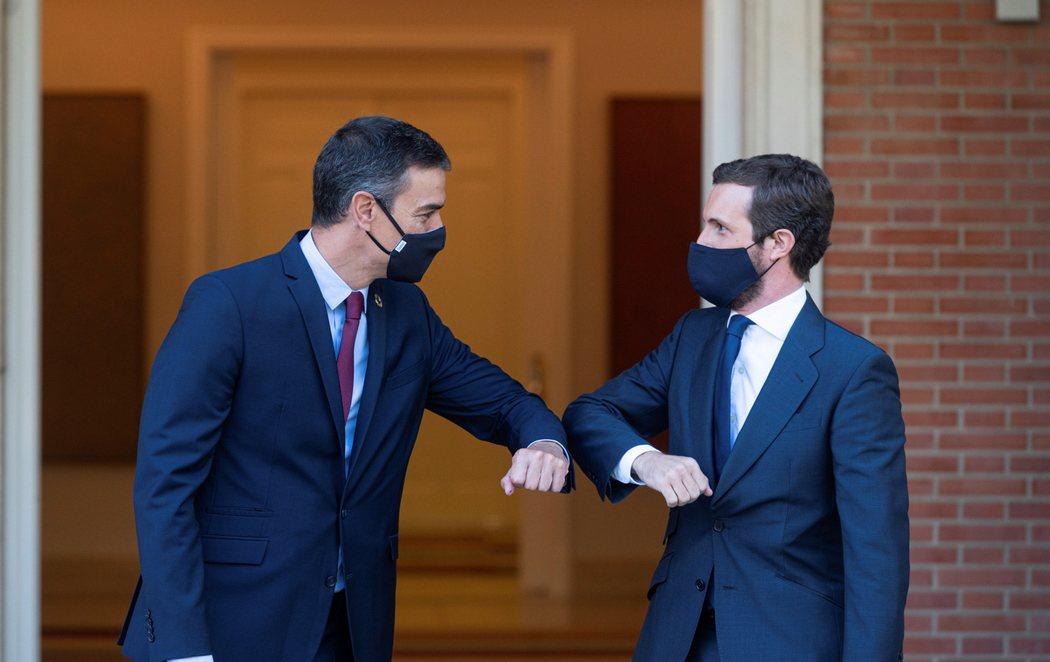 La reunión entre Pedro Sánchez y Pablo Casado en la Moncloa finaliza sin acuerdo para los presupuestos