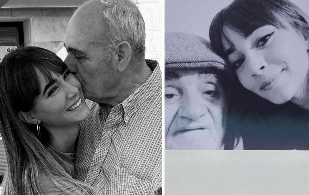 La emotiva despedida de Aitana tras la muerte de su abuelo
