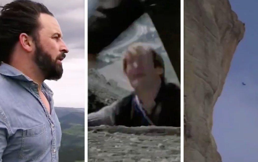 VOX difunde un vídeo en el que aparece Abascal asesinando a Fernando Simón al arrojarle por un barranco