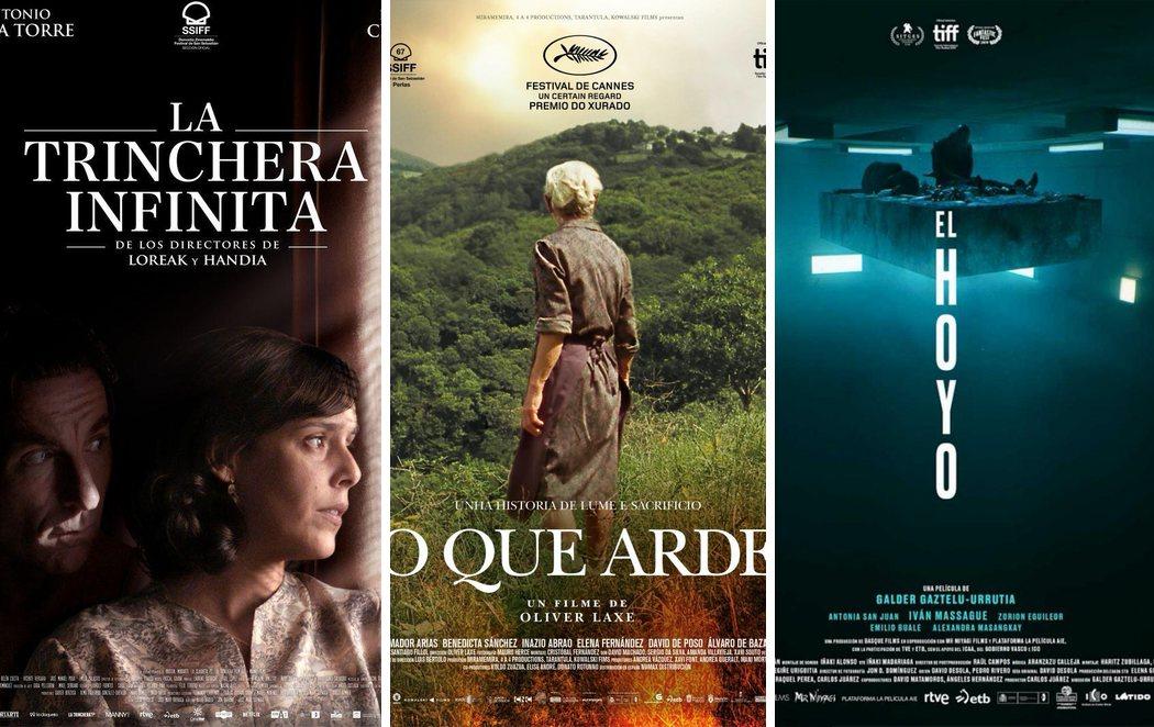 'La trinchera infinita', 'O que Arde' y 'El hoyo': películas españolas preseleccionadas para los Oscar
