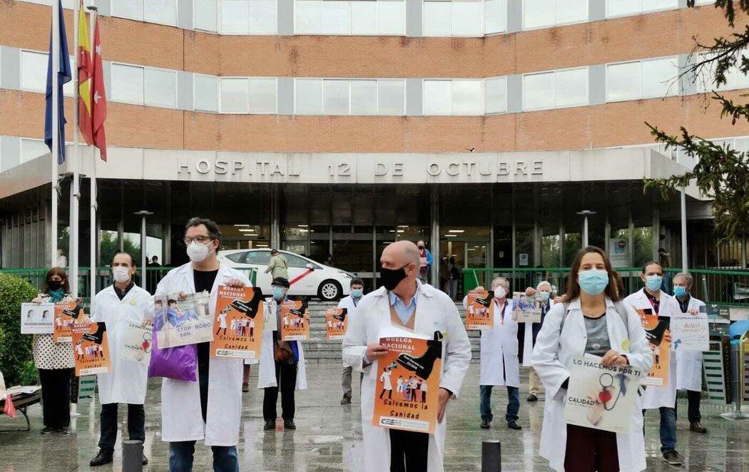 Huelga de médicos en toda España contra la precariedad laboral y el maltrato de la sanidad pública