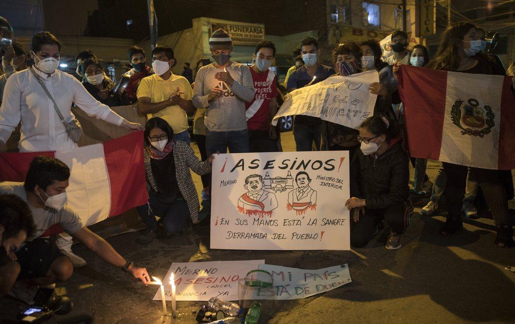 Dos muertos y varios heridos en Perú en las protestas contra el nuevo presidente, Merino