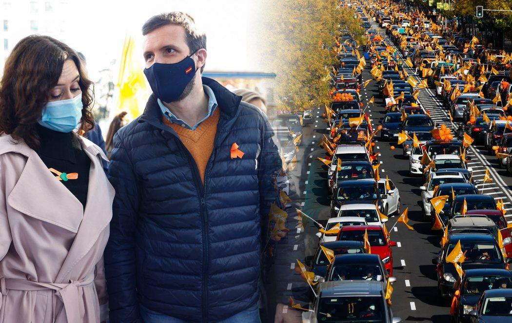 Manifestaciones en varias ciudades de España en contra de la Ley Celaá