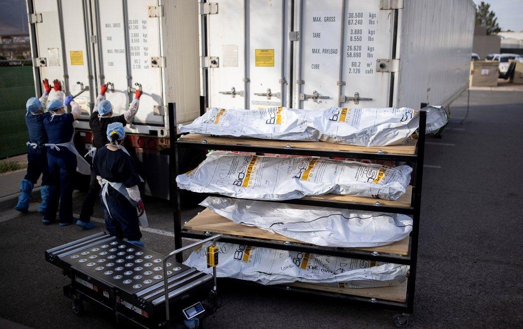 La morgue de El Paso, desbordada por el Covid en una de las ciudades más golpeadas de EEUU