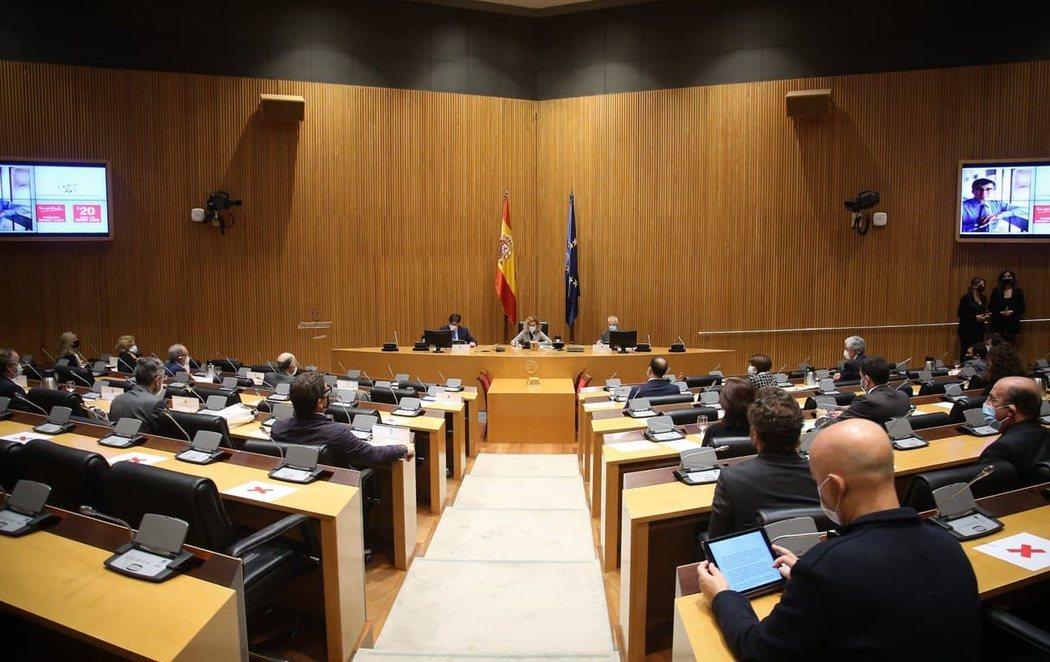 El Congreso recuerda el asesinato de Ernest Lluch en su 20 aniversario en un acto de condena con la presencia de EH Bildu