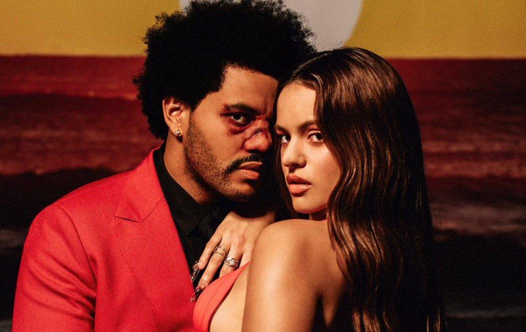 Sorprendente colaboración entre The Weeknd y Rosalía con el remix de la canción del año, 'Blinding Lights'