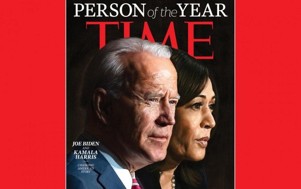 La revista Time elige a Joe Biden y Kamala Harris como Persona del Año