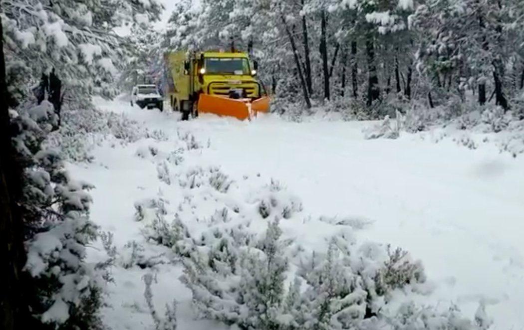 Llegan las grandes nevadas de Filomena a España: hay nueve comunidades en alerta