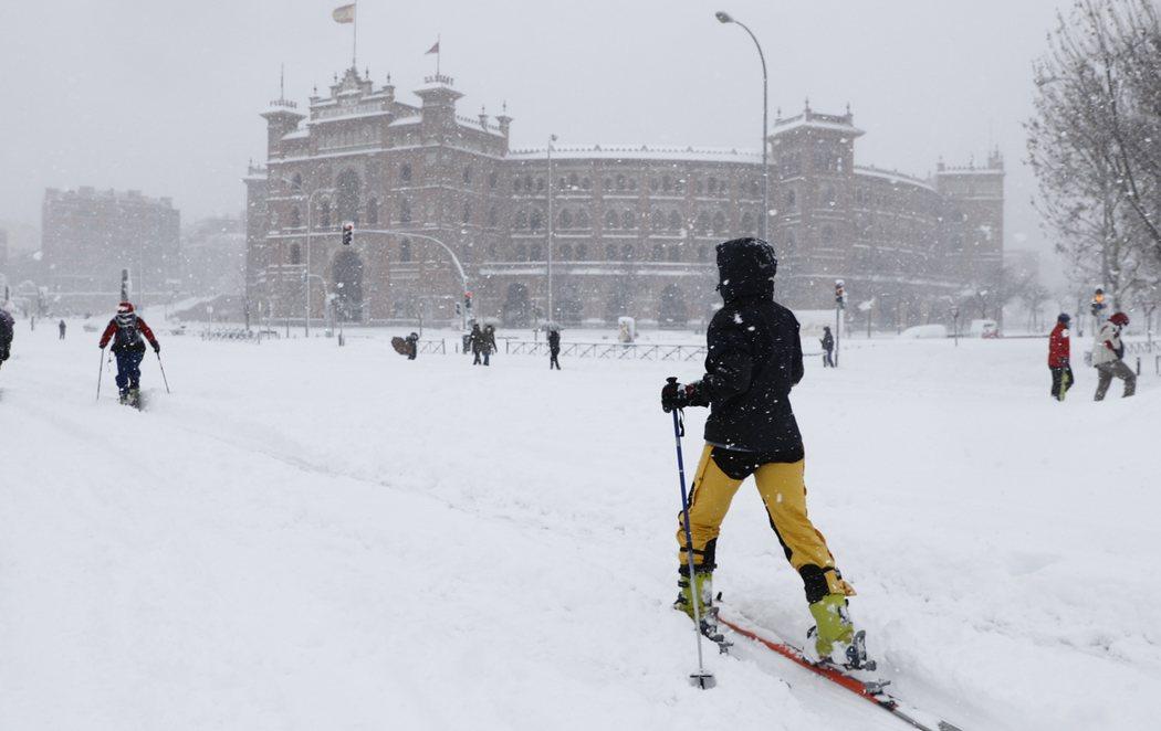 La gran nevada de Filomena colapsa Madrid