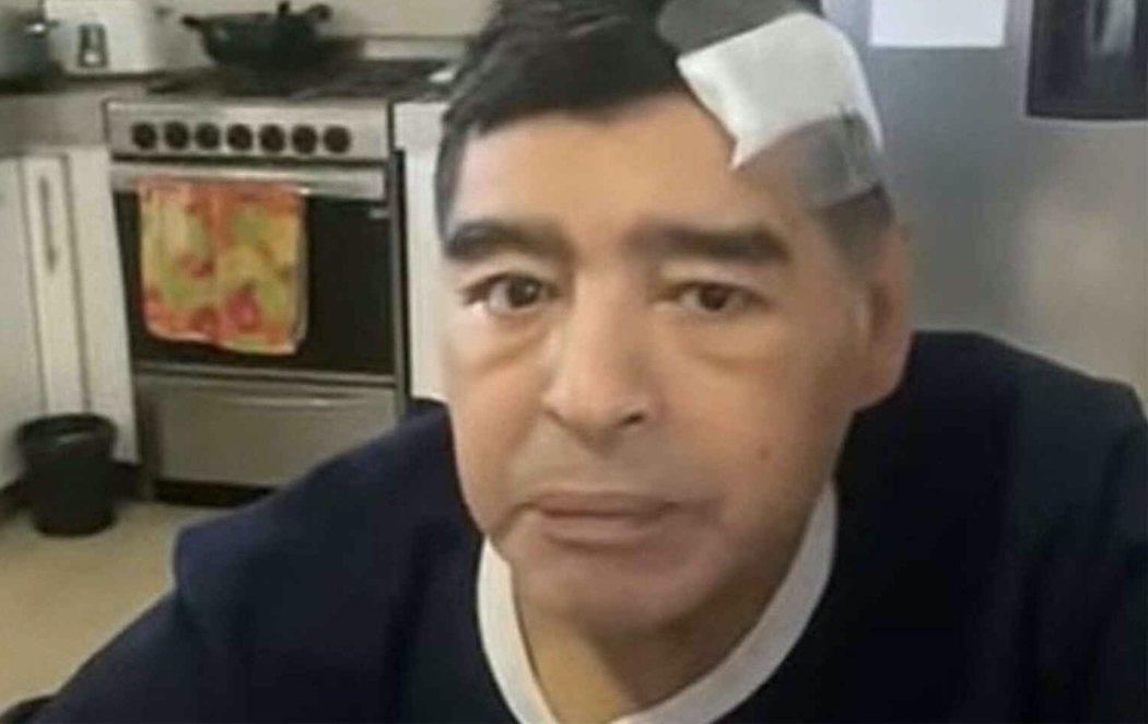 Sale a la luz el último vídeo de Maradona antes de morir