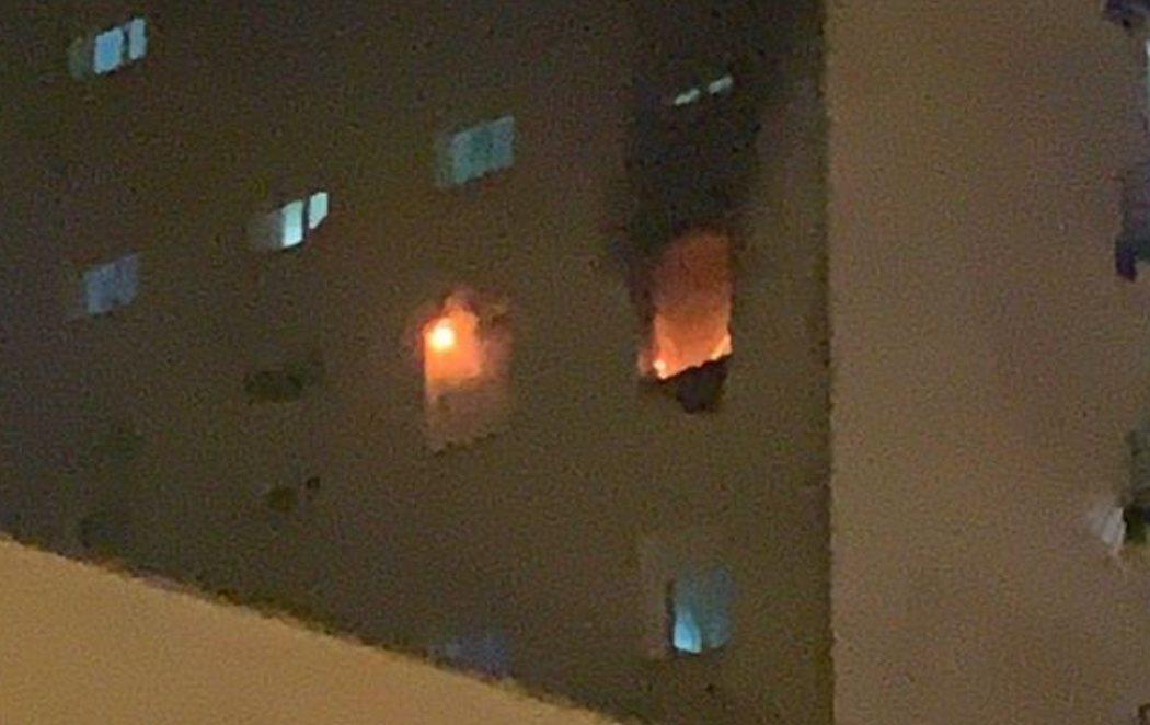 Un paciente de coronavirus del hospital Puerta del Mar de Cádiz provoca un incendio porque quería escapar