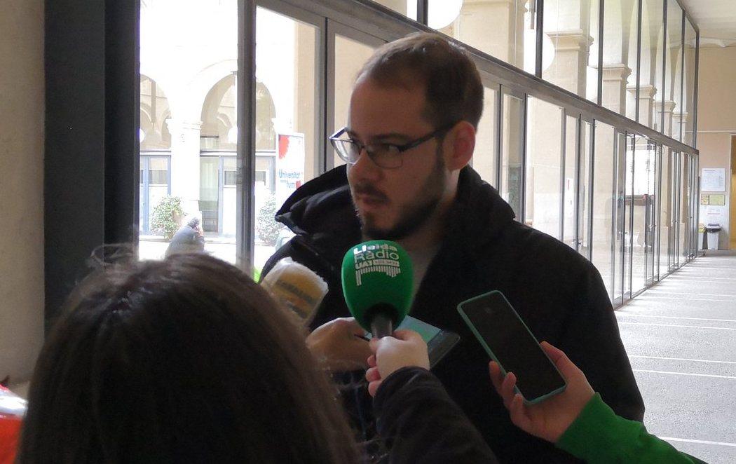 Pablo Hasel se encierra en la Universidad de Lleida para evitar su ingreso en prisión