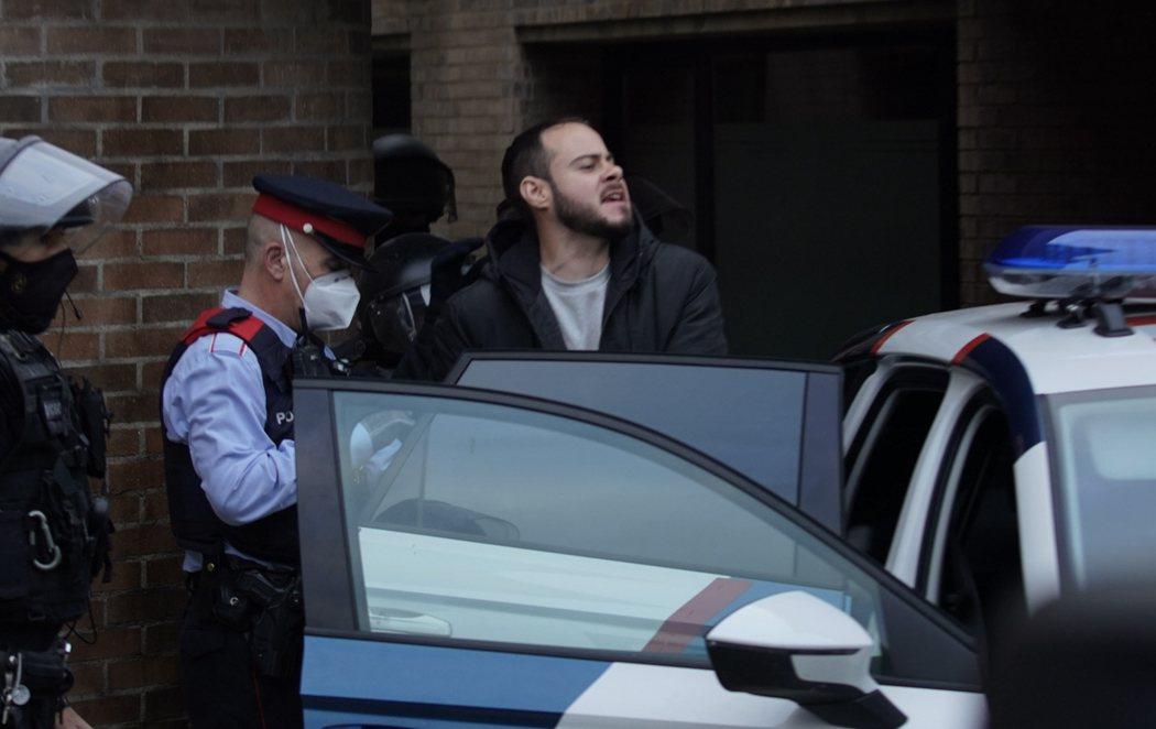 Los Mossos detienen a Pablo Hasel, atrincherado en la Universidad de Lleida