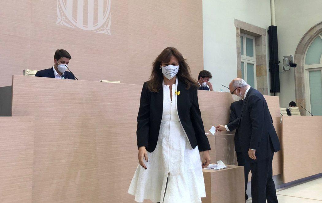 Laura Borràs (JxCat), elegida presidenta del Parlament de Cataluña