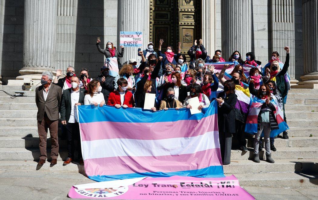 La Ley Trans se registra en el Congreso