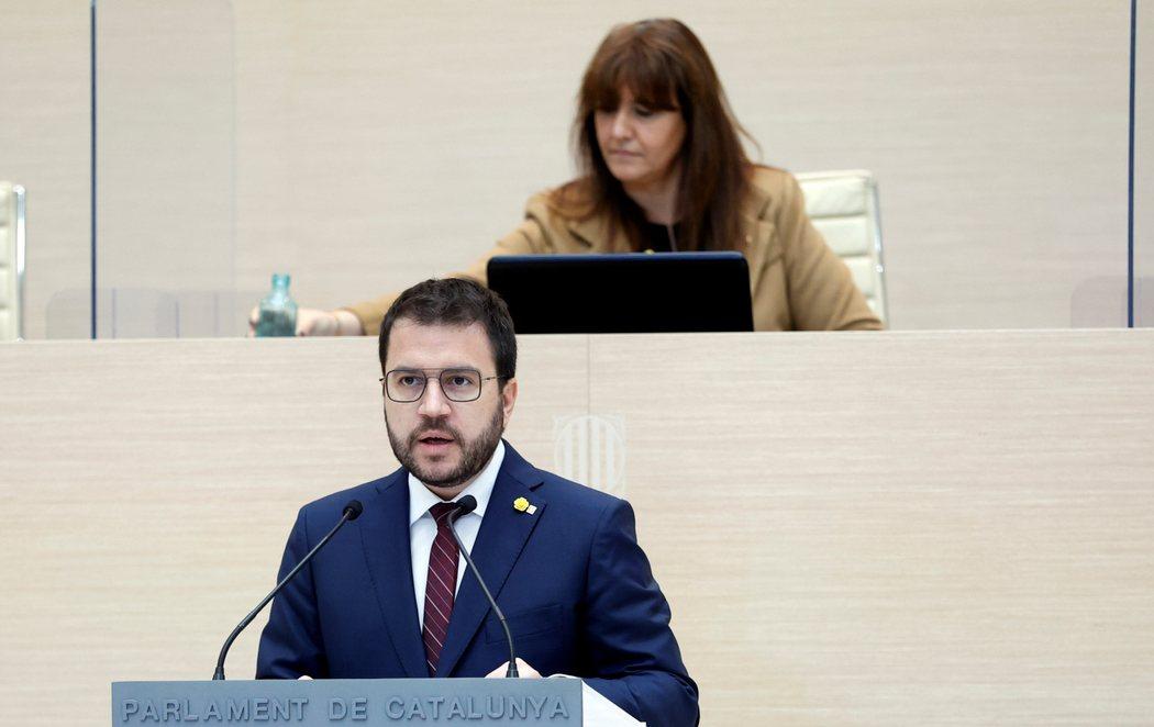 Pere Aragonès no consigue ser investido president de la Generalitat en la primera votación por la abstención de JxCat