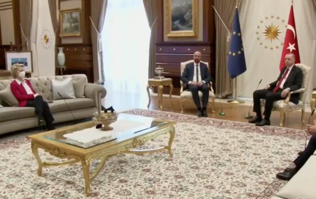 Desplante machista a Ursula Von der Leyen en Turquía