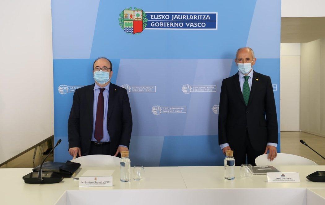 El Gobierno central cede al País Vasco el control de las Prisiones a partir del 1 de octubre