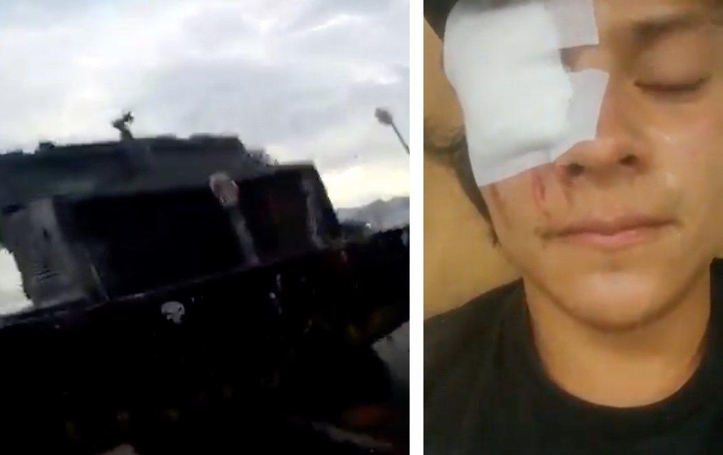 Continúa la violencia en Colombia: un joven, arrollado por un tanque durante una manifestación