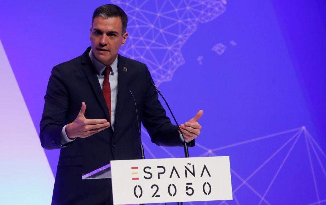 Pedro Sánchez presenta el Plan España 2050