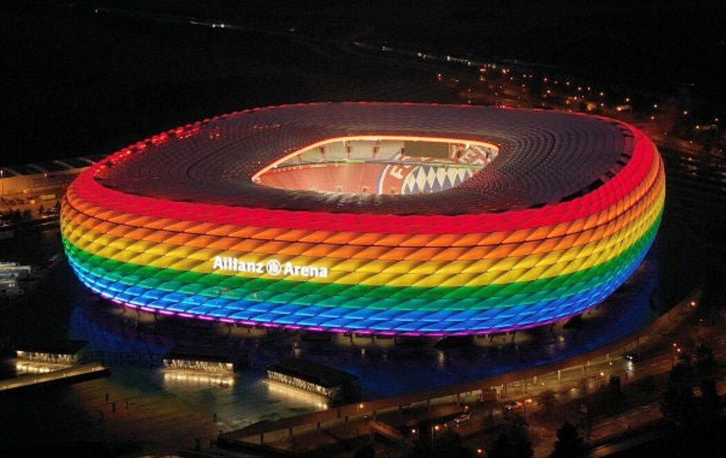 El Ayuntamiento de Múnich pide a la UEFA que el Allianz Arena se ilumine con el arcoíris en el partido contra Hungría en rechazo a la LGTBIfobia de su Gobierno