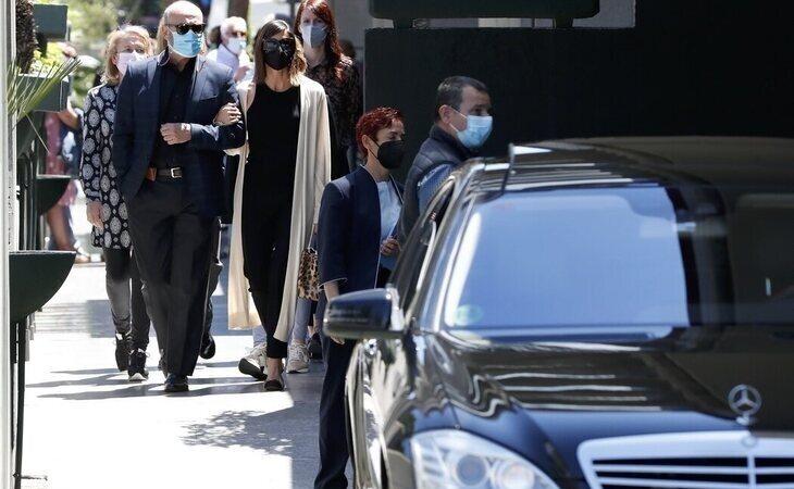 Último adiós a Mila Ximénez en el cementerio de La Almudena