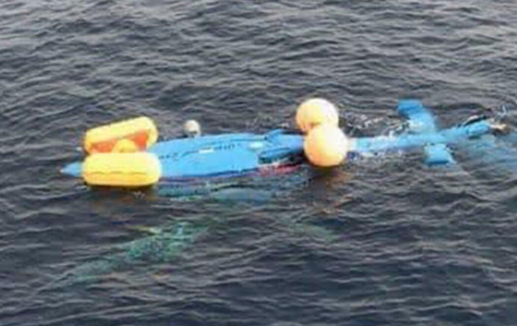 Muere un funcionario de Aduanas en Algeciras tras estrellarse en el mar su helicóptero mientras perseguía a unos narcos
