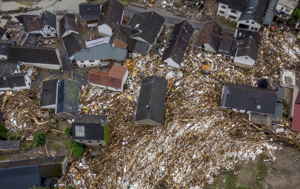 Las inundaciones en Alemania y Bélgica ya dejan 120 muertos: la AEMET vincula su origen al cambio climático