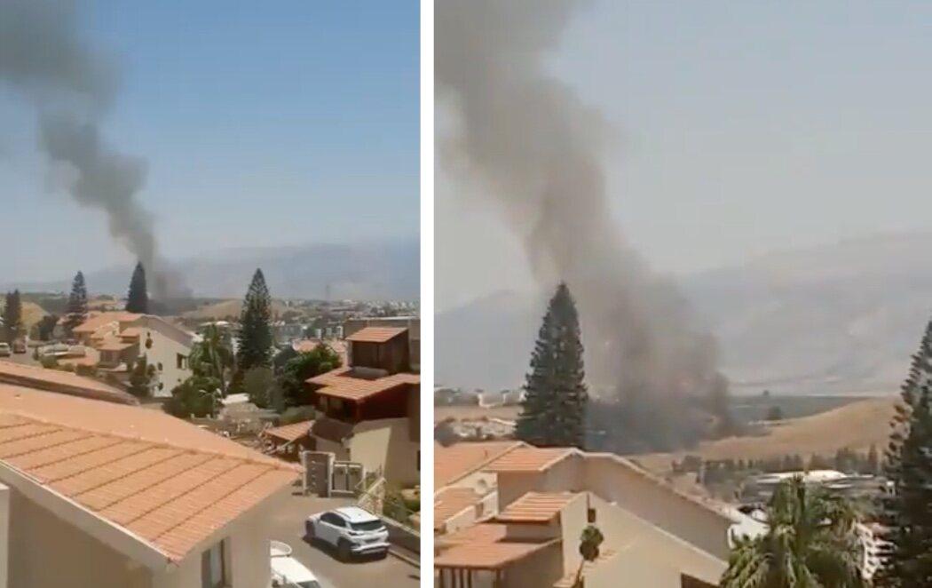 Dos cohetes lanzados desde Líbano caen sobre Israel