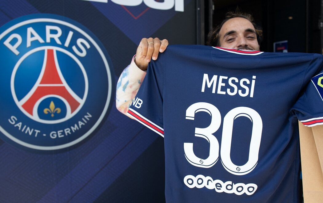 Furor en París con la camiseta de Messi en el PSG: se agota en tan solo una hora