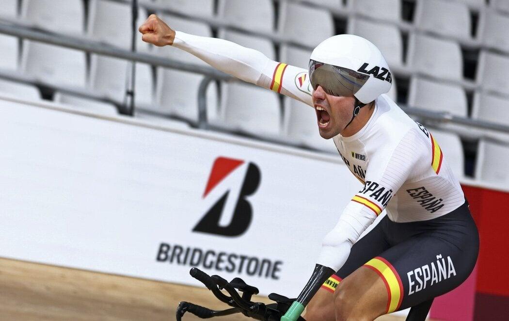 Alfonso Cabello consigue el primer oro para España con récord del mundo