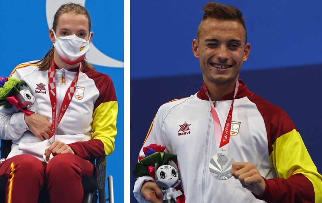 Iñigo Llopis y Marta Fernández consiguen sendas medallas de plata en Tokyo 2020