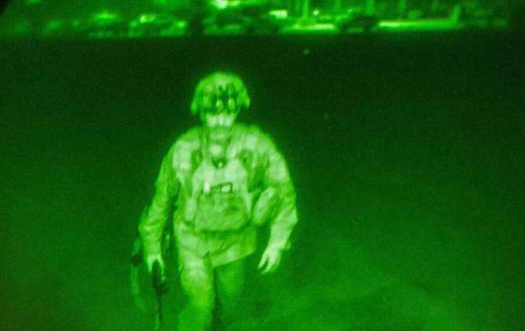Chris Donahue, el último soldado estadounidense en abandonar Afganistán