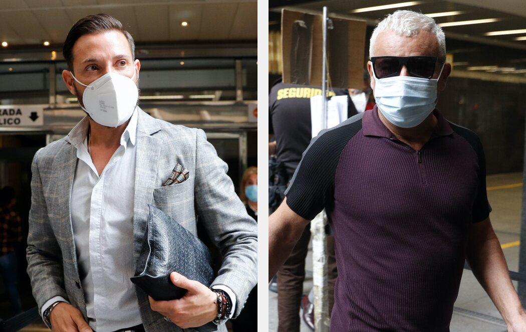 Antonio David Flores y Jorge Javier Vázquez se reencuentran en el juicio del exguardia civil contra La Fábrica de la Tele