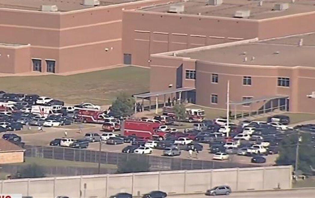 Un tiroteo en un instituto de Texas (EEUU) deja cuatro heridos