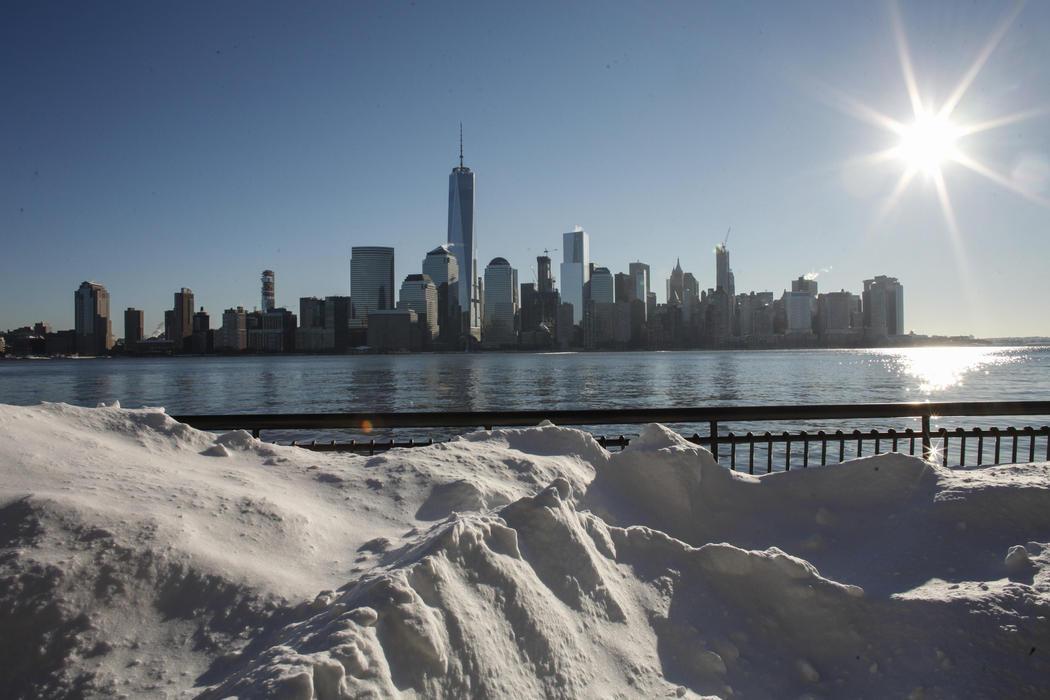 Nueva York tras el paso de Jonas