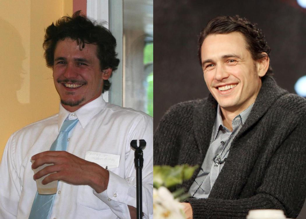 James Franco y su doble