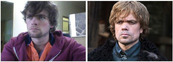 Peter Dinklage y su doble