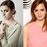 Emma Watson y su doble