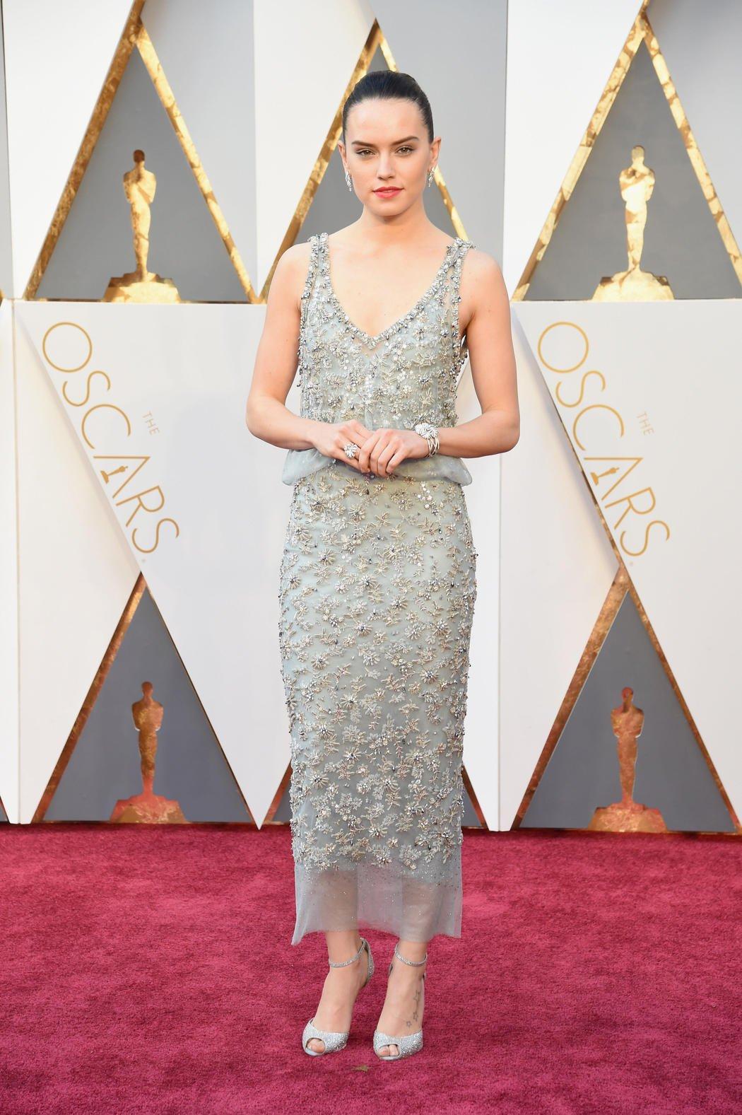 Daisy Ridley en los Oscar 2016