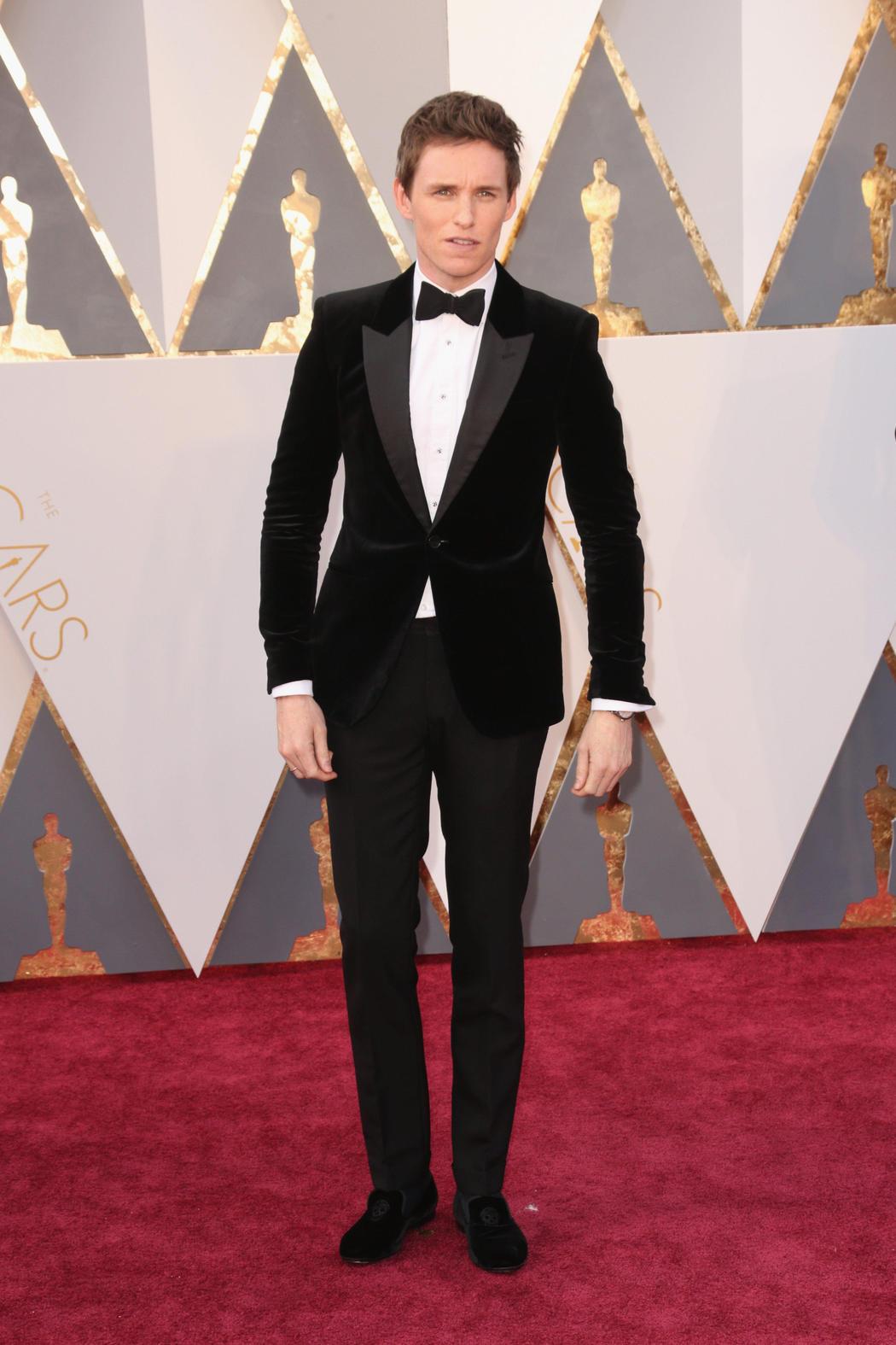Eddie Redmayne en los Oscar 2016