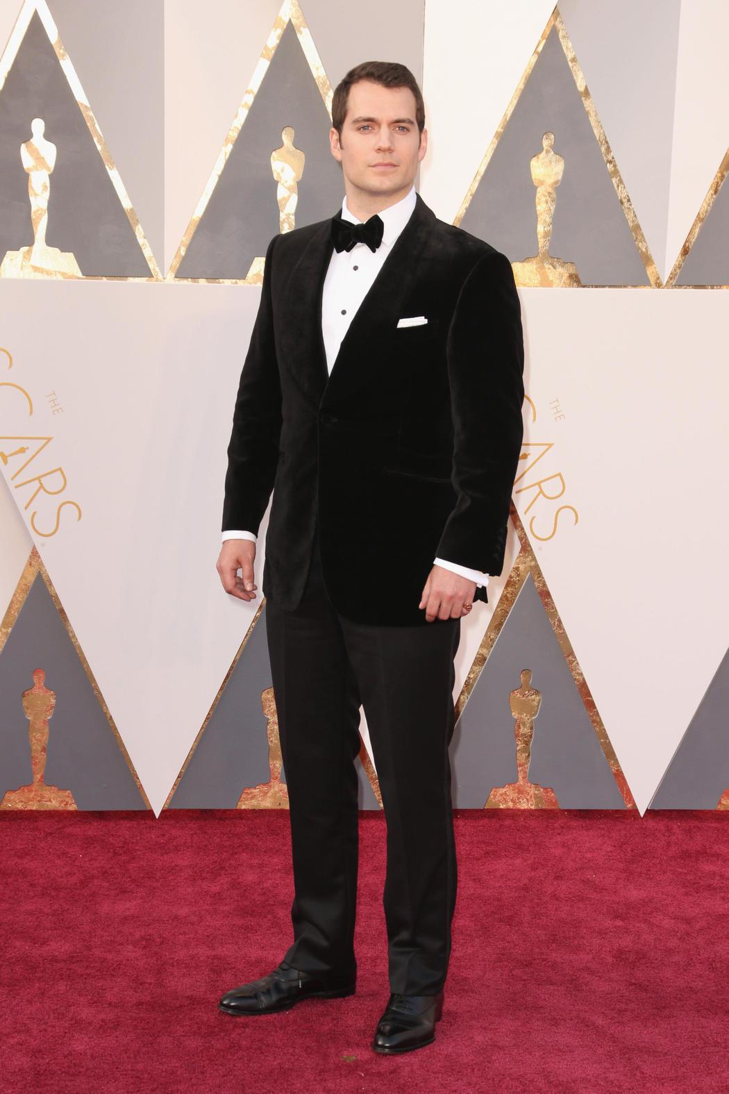 Henry Cavill en los Oscar 2016