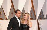 Kate Winslet y Leonardo DiCaprio, juntos en los Oscar 2016