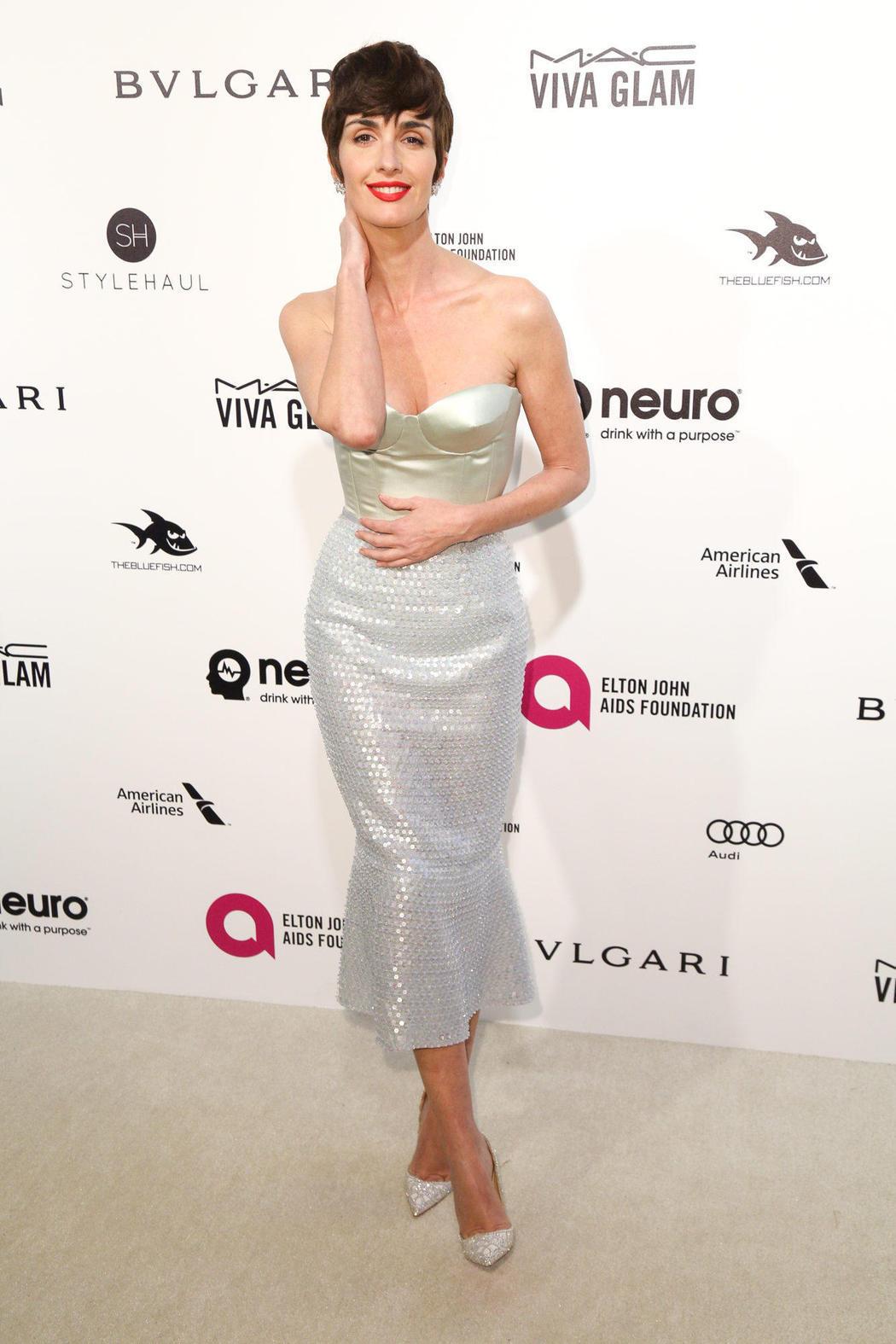 Paz Vega en la fiesta post Oscars 2016