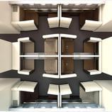 La distribución de la cabina de Etihad