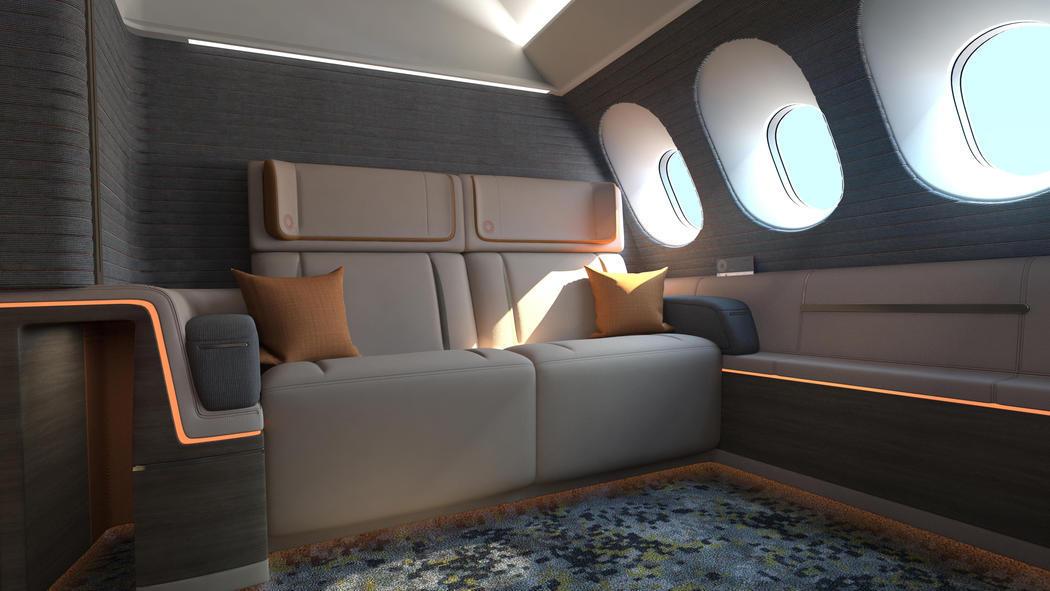 Compartimento doble de primera clase